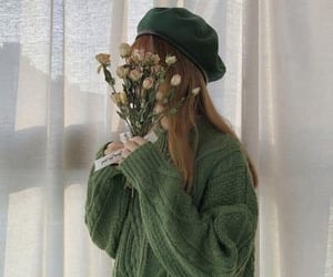 green, aesthetic, and beauty image