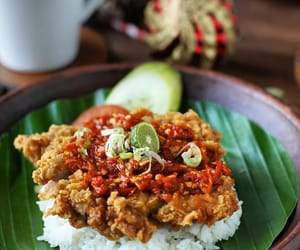 chilli, fried chicken, and lime image