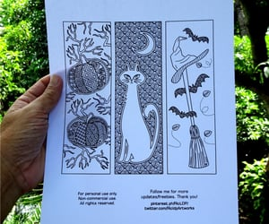 bookmarks, drawings, and cute image