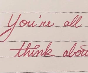 crush, you, and thinking about you image