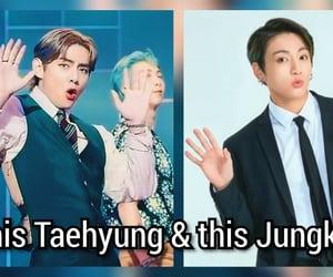 meme, taehyung, and memes image