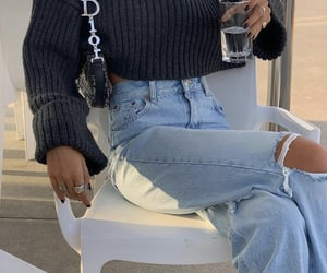 ripped jeans, everyday look, and fashionista fashionable image