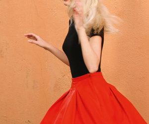 model, daphne groeneveld, and blonde image