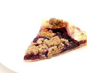 raspberry, walnut, and galette image