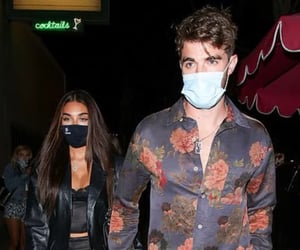 drew taggart, chantel jeffries, and the chainsmokers image