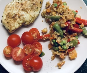 food, Chicken, and healthy food image