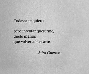 frases en español, dolor, and querer image