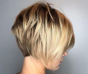 blonde, straight, and female image