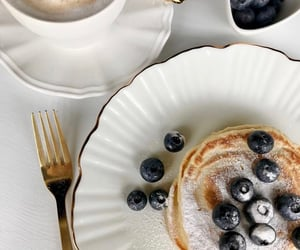 food, aesthetic, and blueberries image