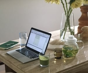 apple, drink, and infusion image