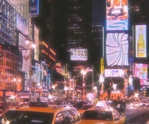 city, aesthetic, and new york image