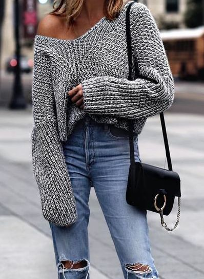 fall, winter, and sweater image