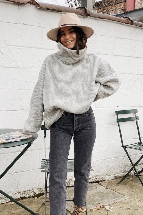 fall, sweater, and winter image
