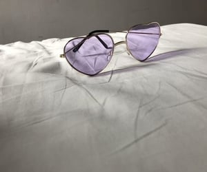 purple, sunglasses, and aesthetic image