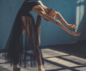 style, ballet, and woman image