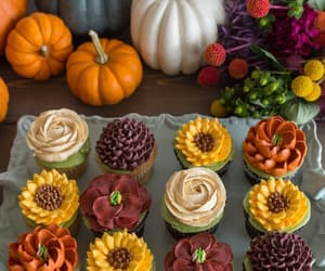 cupcake, autumn, and fall image