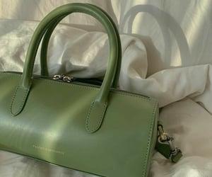 bag, green, and fashion image
