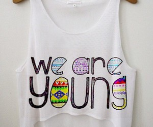girl, we, and we are young image