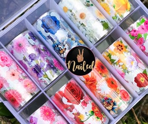 beauty, nails, and nail stickers image