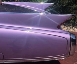 aesthetic, purple, and car image