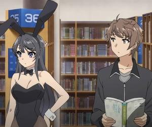 anime, mai sakurajima, and seishun buta yarou image