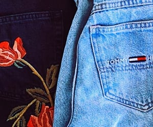 aesthetic, blue jeans, and jeans image