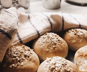 autumn, baking, and bread image