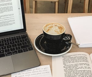 coffee, study, and book image