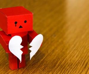 heartbreak, heartbroken, and robot image