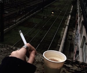 aesthetic, nails, and railway image