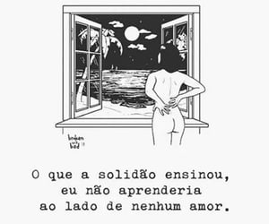 black & white, quote, and sad image
