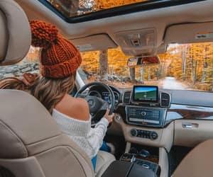 autumn, cars, and fall image