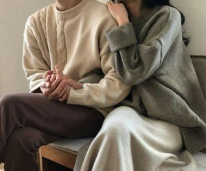 couple, fashion, and soft image