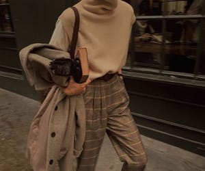 aesthetic, brown, and style image