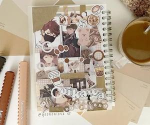 anime, bear, and bubble tea image
