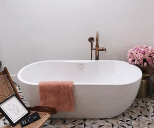interior, bath, and home image