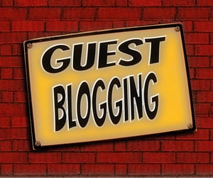 blog post, guest blogging, and guest post image