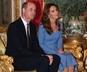 blue, kate middleton, and prince william image