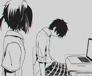 anime depression, kagerou project, and gif image