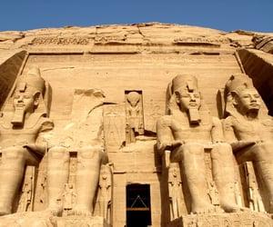 estatuas, abu simbel, and monumentos image