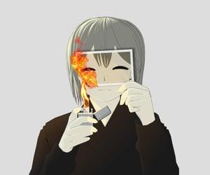 burn, done, and fake smile image