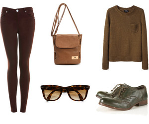 brown, cool, and fashion image