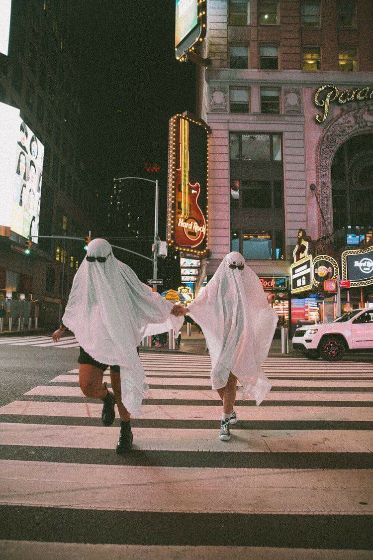 ghost and Halloween image