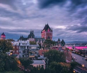 canada, city, and october image