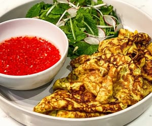 coconut, turmeric, and omelette image