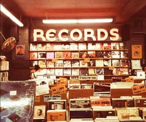90s, records, and vinyls image