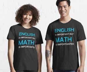 english quote, funny english, and math saying image