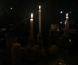 aesthetic, night, and candle image