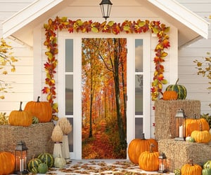 article, autumn, and decorating image