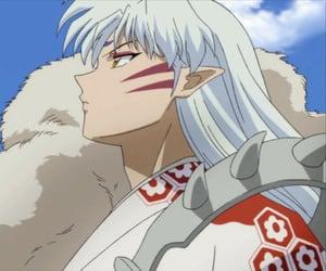 inuyasha, sesshomaru, and anime image